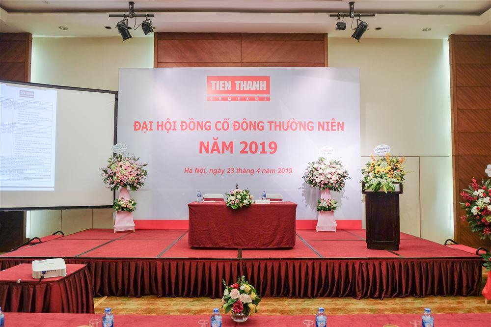 Đại hội cổ đông Tiến Thành (TTH) thông qua kế hoạch năm 2019